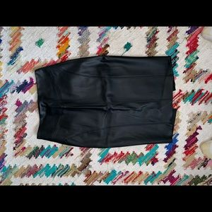 Leather Skirt (NEVER WORN)
